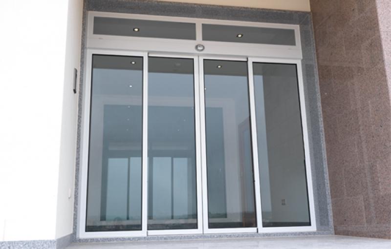 Puertas autom ticas de vidrio - Puertas de entrada con cristal ...