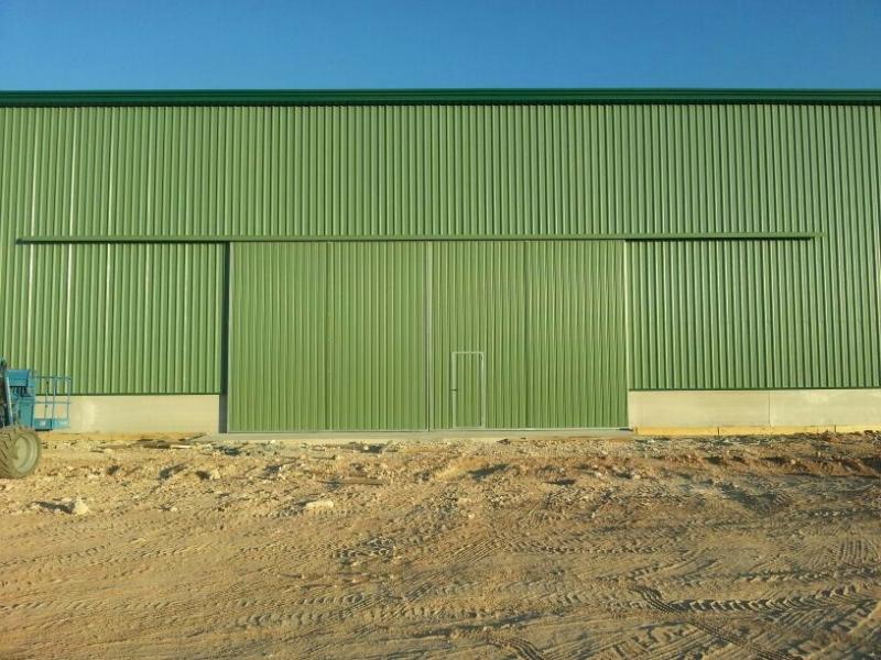 Puertas correderas industriales - Puerta corredera industrial ...