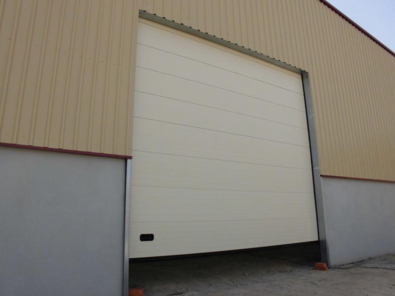 Puertas seccionales industriales for Puertas industriales